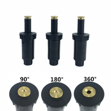 """1 Pc 90 360 Degrees Pop Up Sprinklers 1/2"""" Plastic Lawn Watering Sprinkler Head Garden Watering Spray Nozzles"""