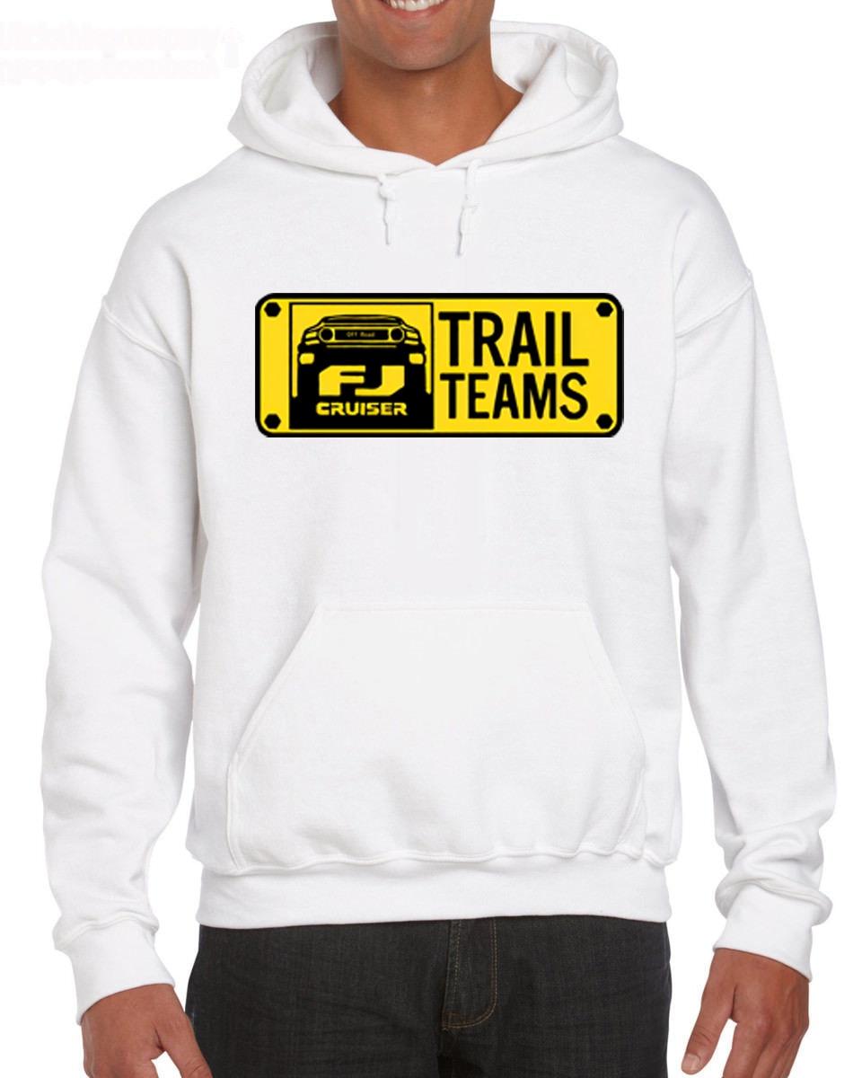 Hot Sale Men Fashion Trail Team 4x4 FJ Cruiser Off Road Logo New Hoodies Sweatshirts