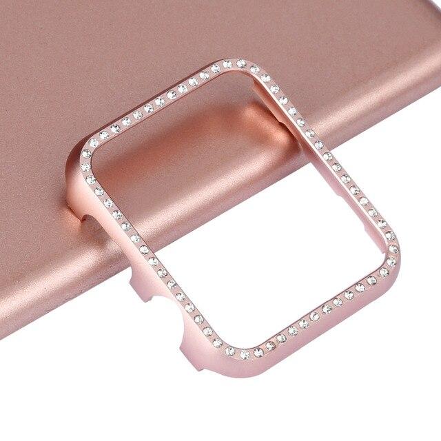 Высококачественная Защитная крышка жесткого корпуса для Apple Watch case Series 4 3 2 1 38 мм 42 мм 40 мм 44 мм для iwatch band