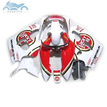 High quality fairings kit for SUZUKI GSXR 600 GSXR750 1996 1999 2000 SRAD custom race fairing kit GSXR600 96-00 Lucky Strike