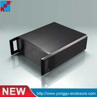 2U Custom IRD Cabinet Aluminum Enclosure Integrated Receiver Decoder