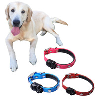 Cat Collar With Safety Buckle Bell Suede Leather TPU Dog Puppy Cat Kitten Hound Pup Pets