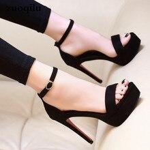 Г., босоножки на платформе босоножки на высоком каблуке с открытым носком женская обувь с ремешком на щиколотке вечерние туфли-гладиаторы свадебные туфли на каблуке