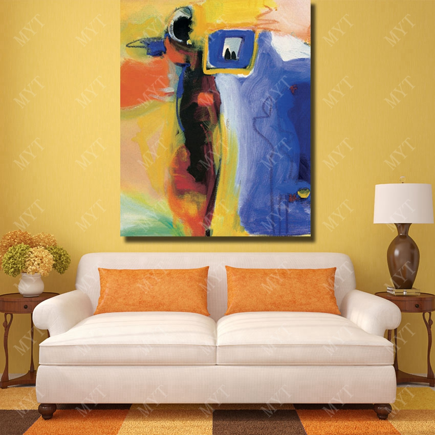 Free shipping canvas wall art painting modern cavnas chinese oil ...
