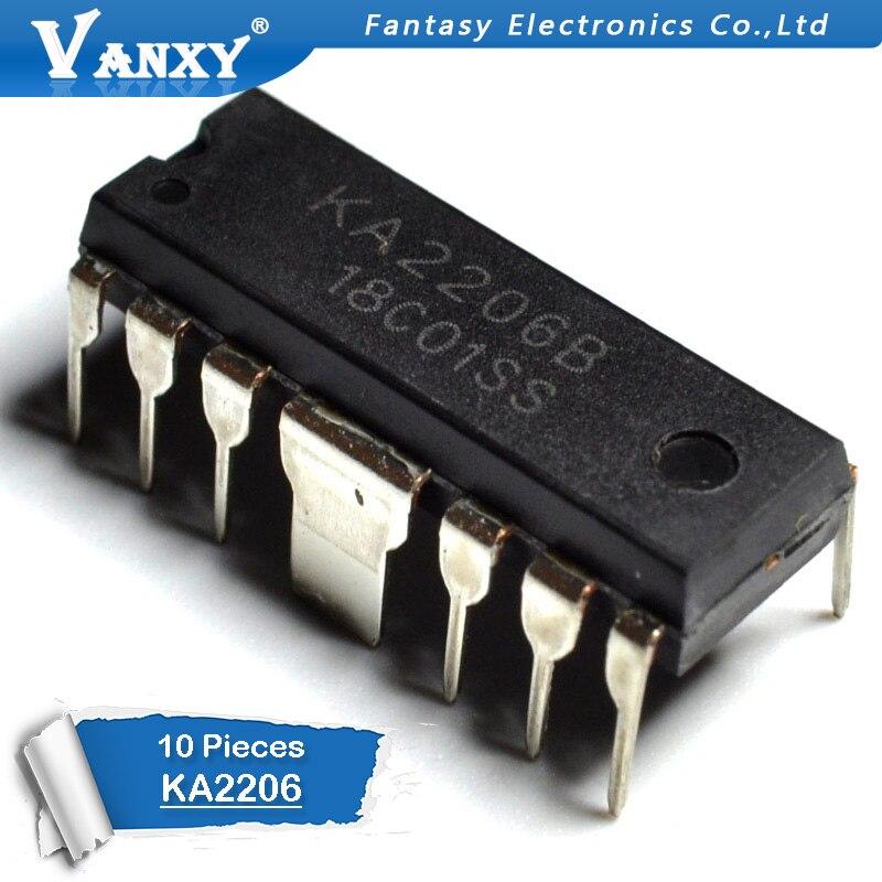 10 PCS KA2206 DIP12 KA2206B DIP yeni ve orijinal IC10 PCS KA2206 DIP12 KA2206B DIP yeni ve orijinal IC