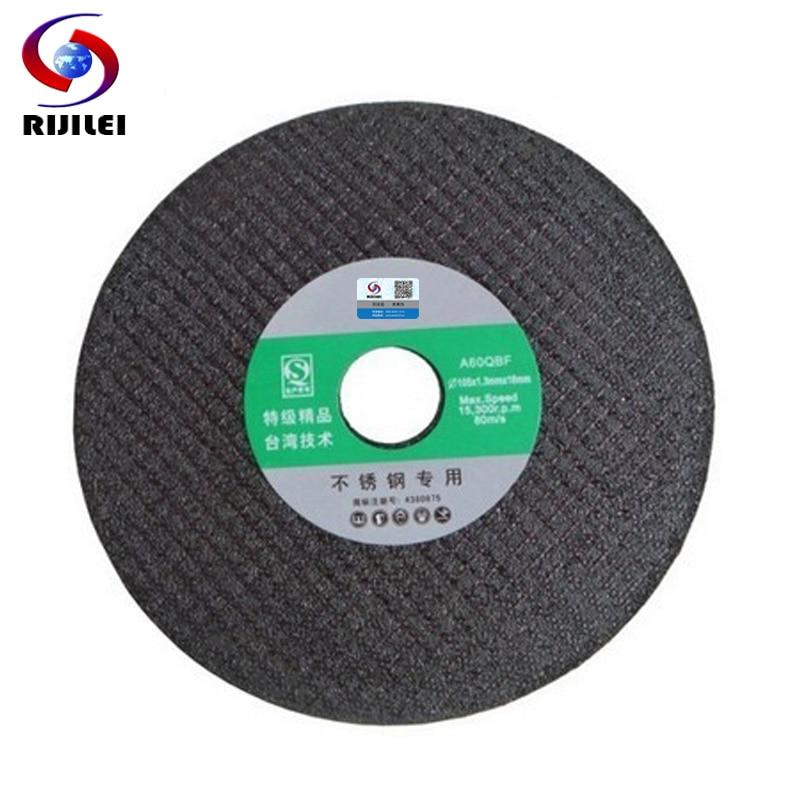 RIJILEI 25PCS / Lot Aukštos kokybės metalo pjovimo diskai 4 colių - Abrazyviniai įrankiai - Nuotrauka 2
