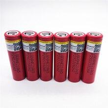 8 unids para LG HE2 18650 batería de iones de litio recargable 3.7 v 2500 mah de la batería puede mantener electro descarga 30a con advertencia