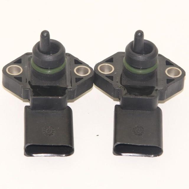 2pcs Oem Map Intake Pressure Control Sensor 038 906 051 D For Golf Jetta Beetle Raabbit A4 Q5 A6 Quattro A5
