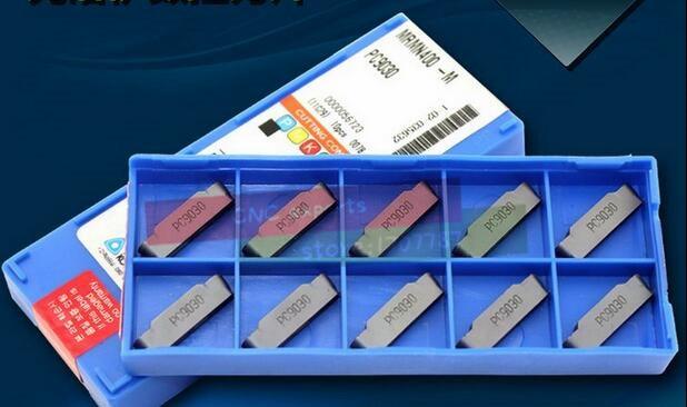 10PCS Grooving carbide insert MRMN200 MRMN300 MRMN400 MRMN500 PC9030 KORLOY CNC Carbide insert Machining Stainless steel