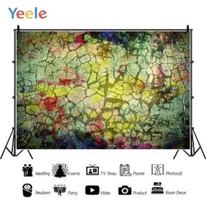Image 2 - Yeele Grunge rétro fissure décoration mur bébé personnalisé fête fonds photographiques fonds de photographie pour Studio de Photo
