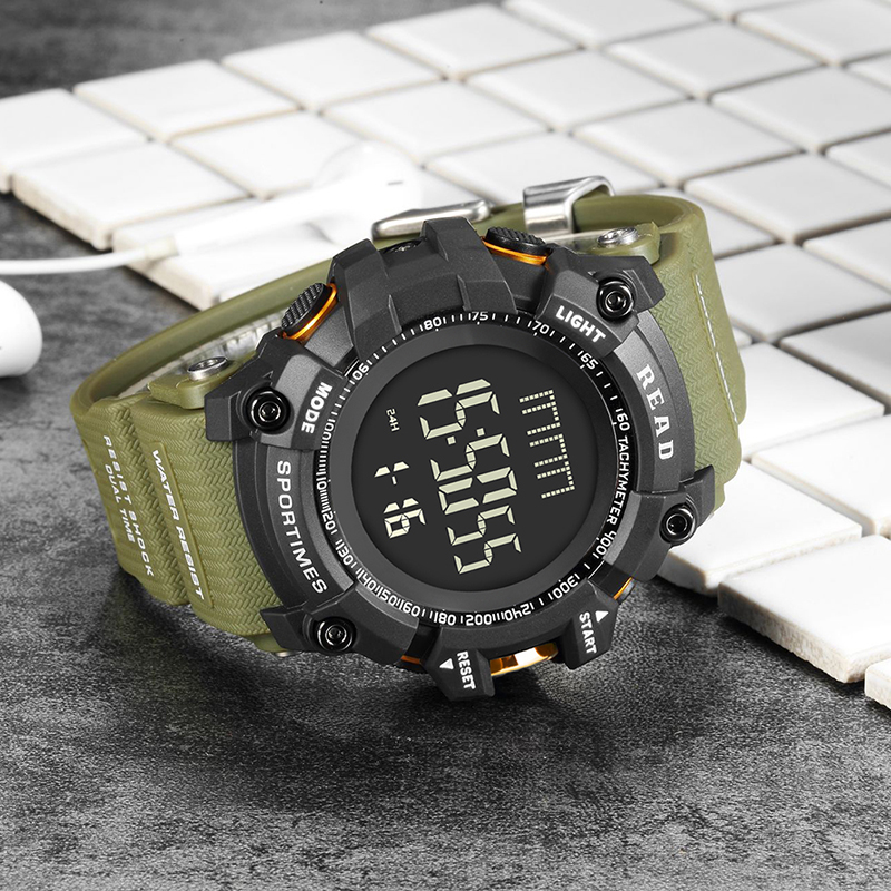 READ 90002 G style Shock часы мужские with digital watch water resistant часы Military Army Mens digital watch for men women in Digital Watches from Watches