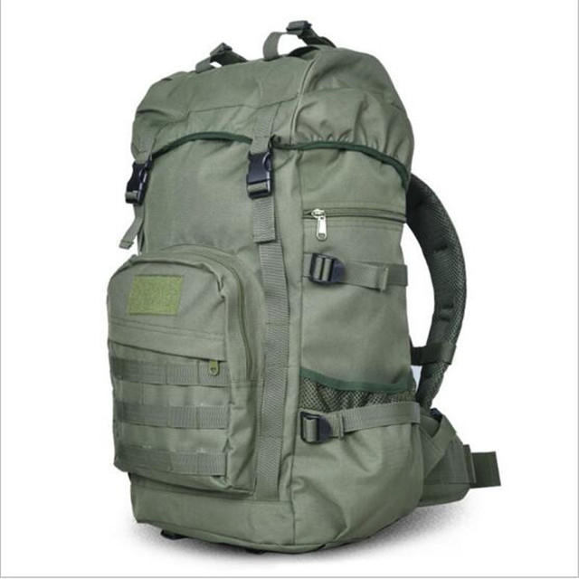 d392bd49cf47 High quality nylon quality bag backpack Male female 50 litres travel bag  leisure waterproof camouflage laptop