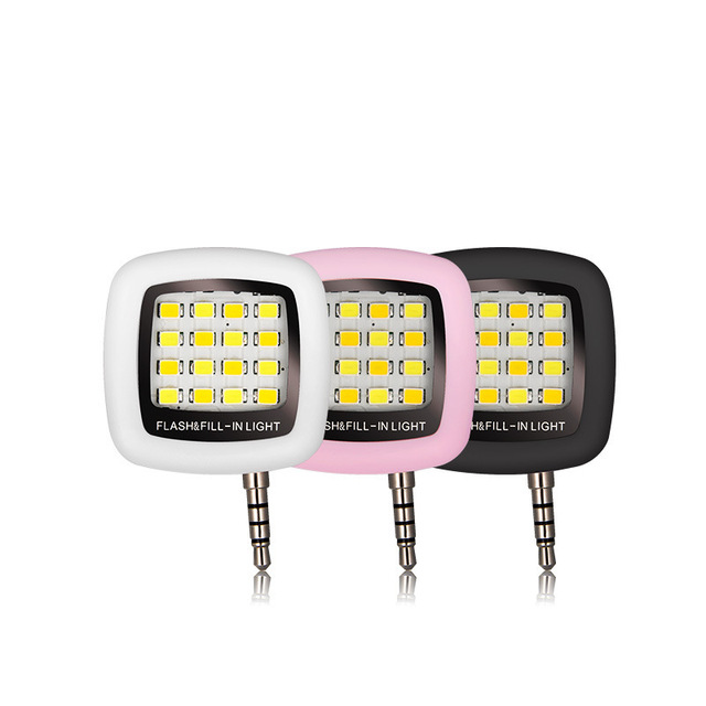 Portable Small Square Phone Light