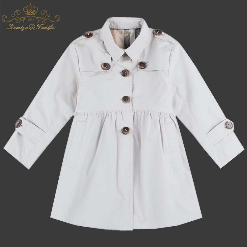 Girls Jackets Spring Windbreaker Baby Girls Clothes 2018 Winter New Brand England Style Kids Coats Outerwear Children Clothing купить в Москве 2019