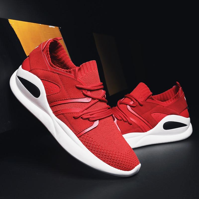 rouge Marée Mode Noir black red Design Chaussures Adulte Tissu Hommes D'été Stretch Nouveau gray 2 De Qualité Noir Casual 2 Vert Rouge Tennis Haute vert 6fwIqaHgx