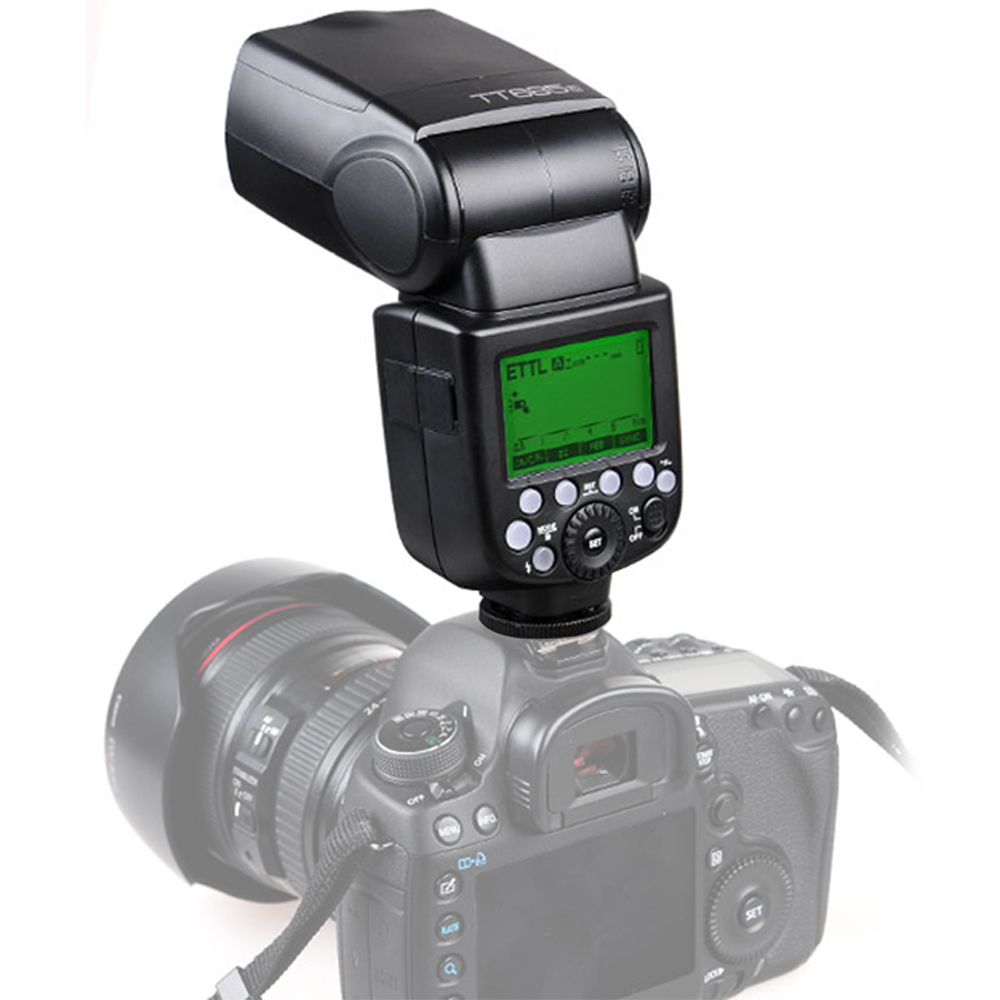 Godox TT685 TT685C TT685N TT685S TT685F TT685O Flash TTL HSS Camera Flash speedlite for Canon Nikon