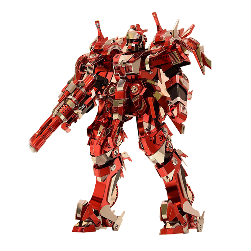 2017 New 3D Metal Puzzle Red Thunder Edition Adult Assembly Model Jigsaw Kit DIY Puzzle Children's Toys Kids Best Gifts virgo the wooden puzzle 1000 pieces ersion jigsaw puzzle white card adult heart disease mental relax 12 constellation toys