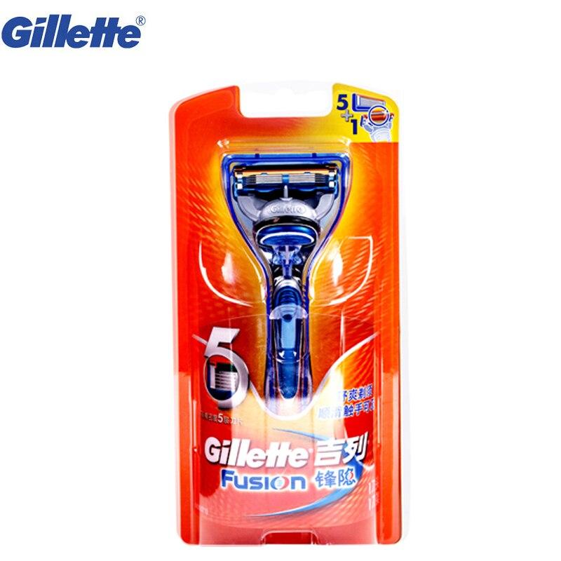 Safety Razor original Gillette Fusion beard shaver razor for Man Straight Shaving Razor Shaving Blades 1 razor handle 1 blade gillette shaving razor blades for men 6 count