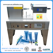 Plastic tube sealing machinery,Ultrasonic soft hose sealer equipment tools composite hose/pipe welding,cosmetic,cream container