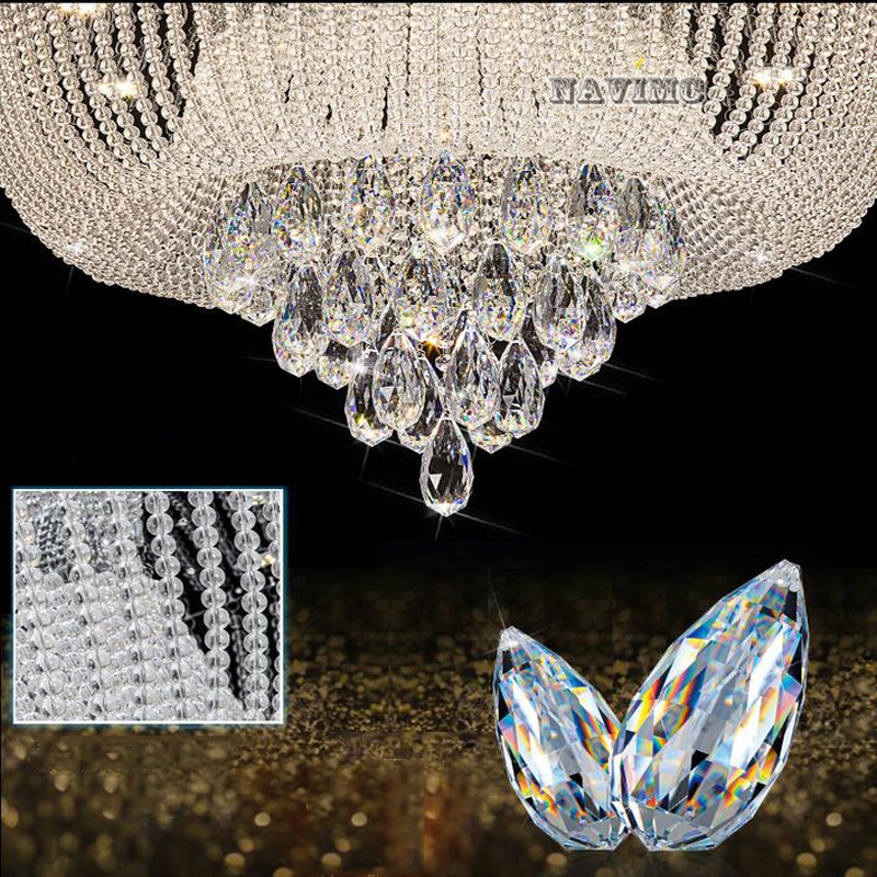 Lights & Lighting Circular Led Crystal Lamps And Lanterns Cornucopia Absorb Dome Light Of Contemporary Sitting Room Hotel Engineering Lobby Lamps Ceiling Lights