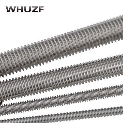 Full Thread Strong Steel Rod Long 30cm x M12 Threaded
