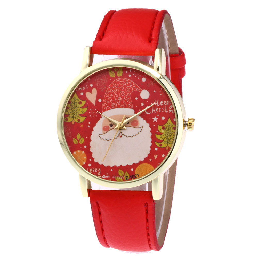 Santa Clau Christmas Watches Womans Man High Quality Fashion Quartz Watch Unisex Watches Female Male Famous Clocks Wholesale 999