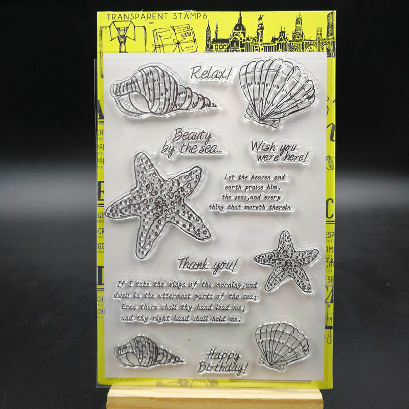 YPP CRAFT New Transparent Clear Silicone Stamps for DIY Scrapbooking/Card Making/Kids Christmas Fun Decoration Supply ypp craft post card transparent clear