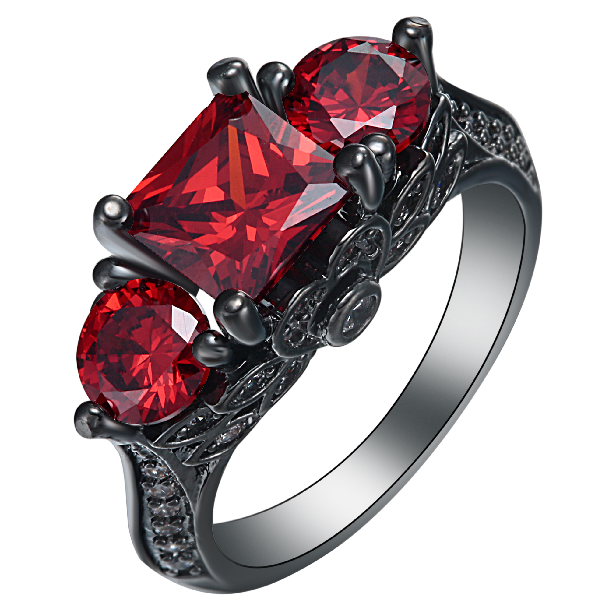 rings box cut red marquise yellow ring halo diamond sale princess off