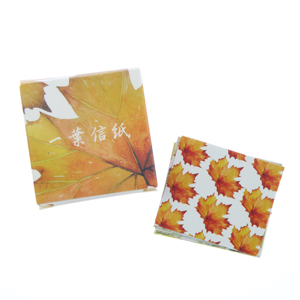 40 pcs/set Creative Various Leaves Stickers Adhesive Stickers DIY Decoration Stickers