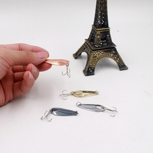 Cheap japan Artificial1pcs Metal Hard Paillette fiishing Lure Crank swing Bait attract variety of fish Tools Tackle accessory
