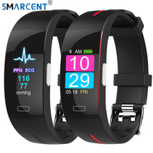 H66plus blood pressure wrist band heart rate monitor PPG ECG smart bracelet sport watch Activit fitness tracker wristband