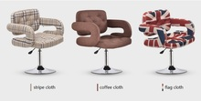 low type bar stool coffee color free shipping cafe house lifting rotation chair wholesale shop household chair stool