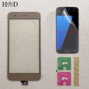 Мобильный сенсорный экран стеклянная панель для HuaWei P9 Lite мини сенсорный экран дигитайзер Передняя стеклянная линза сенсорная панель 5 защ...