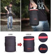 EIRMAI Nylon Functional Lens Bags DSLR Camera Lenses Pouch Bag High Quality Lens Case EIRMAI Waterproof SLR Lens Pouches