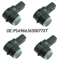 4PCS PSA9663821577 PSA9663650077XT PDC Parking Sensor For PEUGEOT 308 407 RCZ CITROEN C5 C6 Capteur