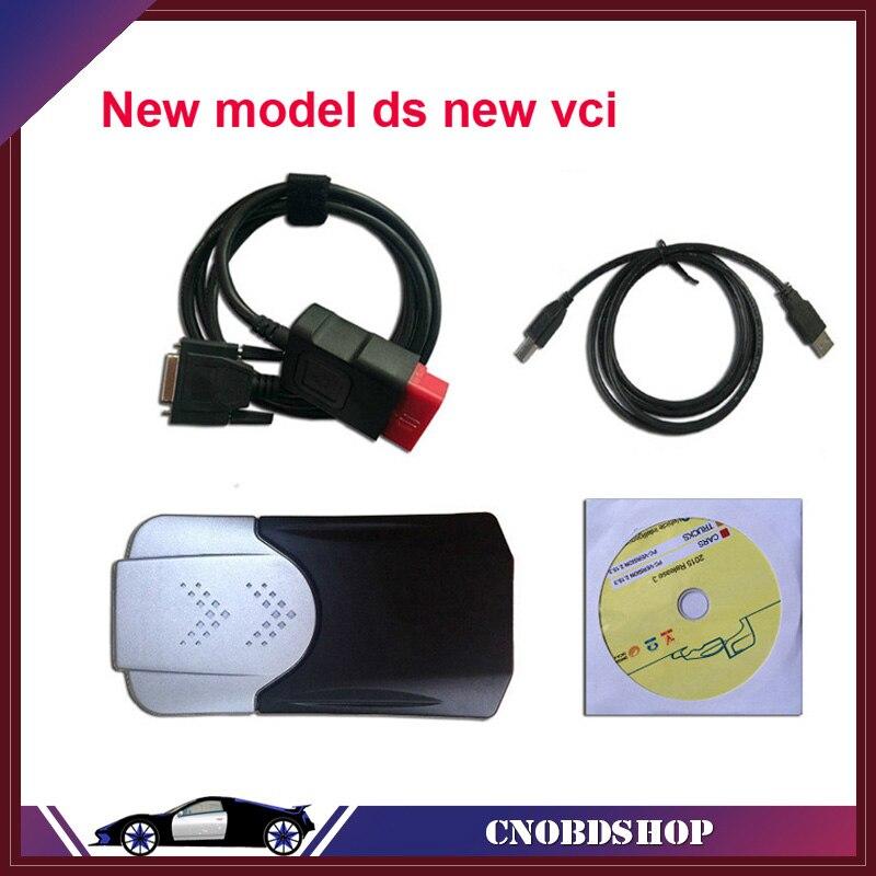 Prix pour 2017 Date 2015. R1/2014.2 logiciel Pour Nouveau vci cdp + TCS cdp pro plus avec LED câbles SCANNER pour voitures/camions même comme mvd