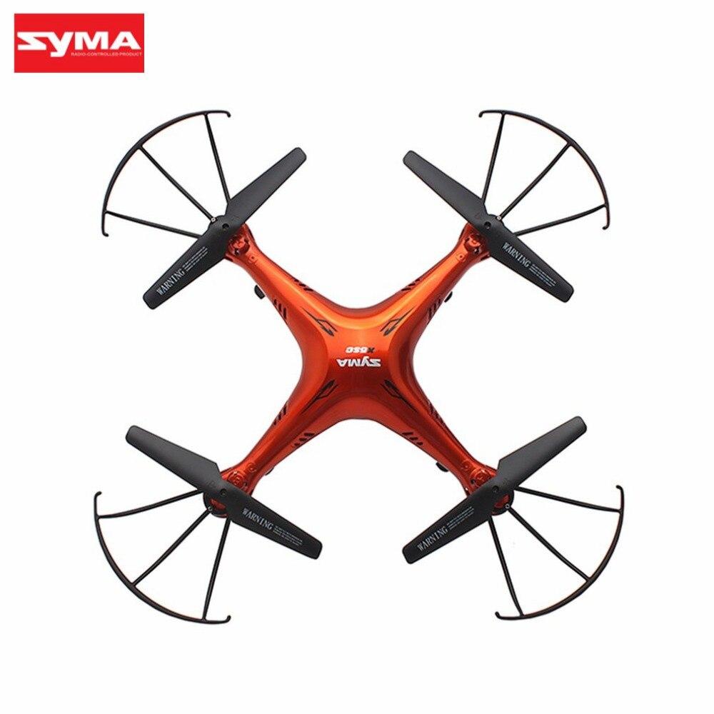 Original SYMA X5SC 2.4G Drone intelligent RC quadrirotor avion avec 720P HD caméra Mode sans tête 3D Flips Mode de vitesse salut