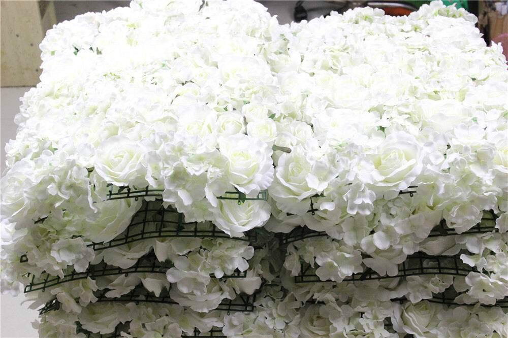 Бесплатная доставка белый зеленый серии Hybrid искусственный цветок для свадьбы невесты Букет цветов события вечерние декоративный цветок - 5