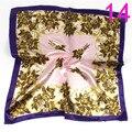 La sra. de la Moda Rayón Corbata Más Flores Variedad Pequeña Plaza Pañuelo de 20 Tipos De Estilos 50 cm * 50 cm D-32