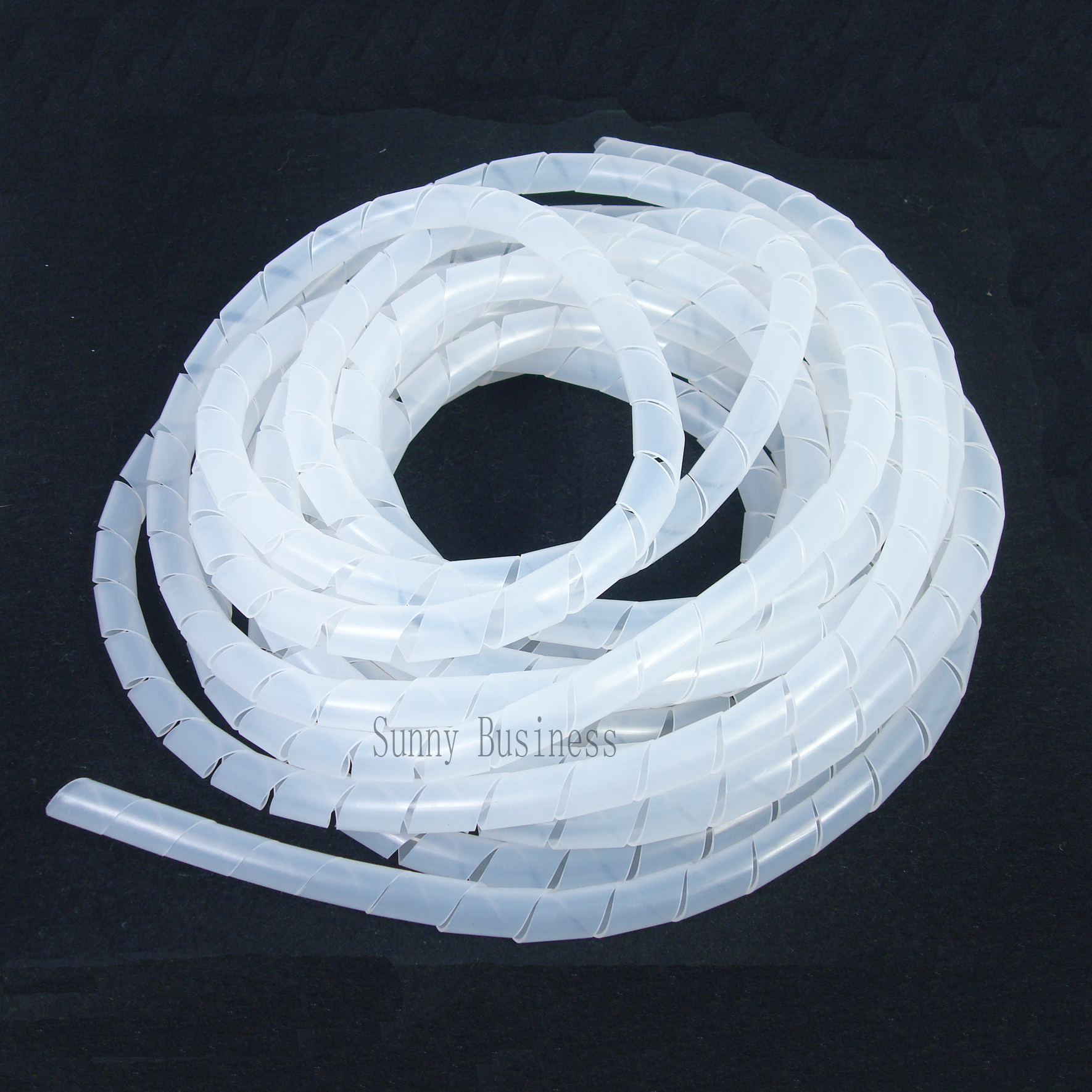 4mm 70 5ft 21 5m Spiral Cable Wire Wrap Tube Computer