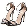 2016 женская обувь бренда ZA Г высокие каблуки сандалии свадьба насос обувь sexy party высокие каблуки Т этап лакированные свадебные туфли