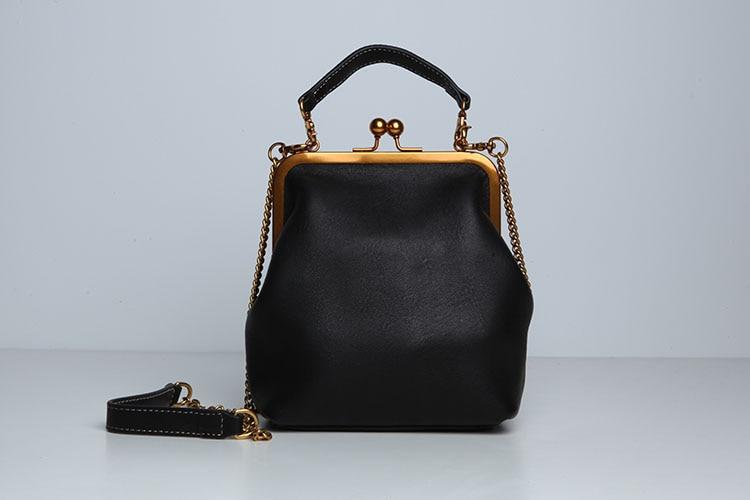 2019 new vintage bag women's handbags leather PU chain shoulder crossbody bags (11)