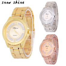 snowshine #3001  Men Watch Luxury Stainless Steel Band Sport Quartz Analog Wrist Watch  free shipping