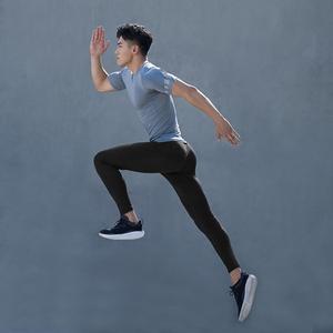 Image 3 - Youpin ZENPH мужские эластичные спортивные брюки быстросохнущие дышащие обтягивающие брюки мужские тренировочные спортивные штаны для бега