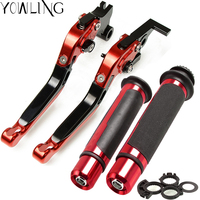 For SUZUKI DR 650 S / SE DR650S 1994 2010 1995 1996 1997 1998 1999 2001 2002 2003 Brake Clutch Levers and Handlebar Hand Grips