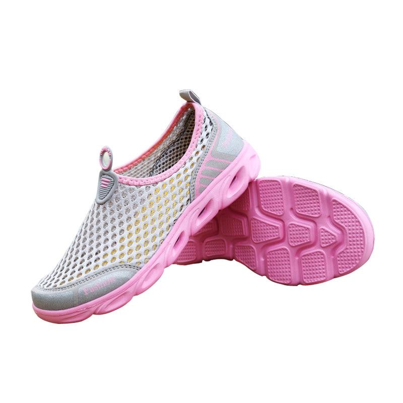 FONIRRA Verano Zapatos Casual Mujer Slip-On Plataforma Pisos Mujer - Zapatos de mujer - foto 3