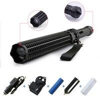 Powerful Baseball Lantern Telescopic Baton Cree XM L T6 LED Flashlight 18650 OR AAA Tactical Flashlight
