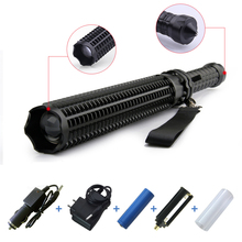 Big sale Powerful Baseball lantern telescopic baton cree XM L T6 LED flashlight 18650 OR AAA tactical flashlight self defense Torch