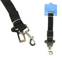 black Cat Dog Car Safety Seat Belt Harness Adjustable Pet Puppy Pup Hound Vehicle Seatbelt Lead Leash for Dogs Drop Shipping