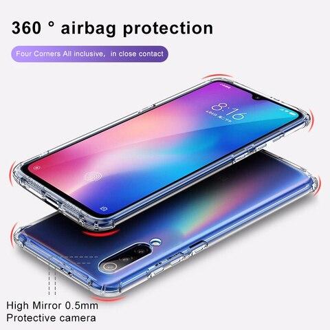 AOXIN 3D Clear Phone Case For Xiaomi mi 8 9 mi8 lite SE Case Back Cover For Xiaomi mi 8 mi8 mi9 lite Soft TPU Silicone Shell Bag Karachi
